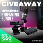 Win an AverMedia Streaming Bundle Worth Over $550 from Centre Com