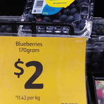 [VIC] Blueberries 170g $2 @ Coles