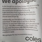 Free Delivery When You Spend $50 or More @ Coles
