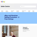 List & Sell 2 Items Free each Month on eBay via Gumtree
