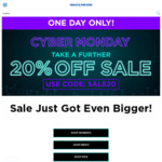 Take A Further 20% off Inc Sale Items (Free C&C/+ $10 Shipping Cost /Spend $110 Shipped) @ Skechers