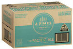 [eBay Plus, VIC, NSW] 4 Pines Pacific Ale Beer Case 24x 330ml Bottles $37 Delivered @ CUB eBay