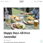 50% off Australian Venue Co Pubs and Restaurants 5pm-6pm Daily (WA 4.30pm-5.30pm)
