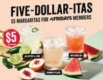 $5 Margaritas for MyFridays Members ($10 for Non-Member) @ TGI FRiDAY'S