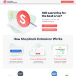 $2 Bonus Cashback ($5 Min Spend) via ShopBack Browser Extension, App Activation Required @ ShopBack