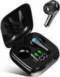 Zenobia V5.2 Bluetooth Earbuds Waterproof $11.24 (Was $24.99) + Shipping ($0 with Prime/ $39 Spend) @ Zenobia-AU Amazon AU