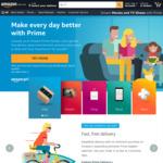 60 Day Amazon Australia Prime Free Trial (Extension to Initial 30 Days)