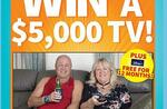 Win a Samsung Smart TV & Disney+ Subscription Worth $5,719 from Are Media