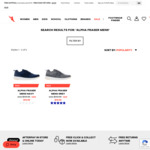 Alpha Fraser Men's Sneakers Navy or Grey $19.99 (Was $139.99) Size US 7-12 + $10 Delivery/$0 C&C @  The Athletes Foot