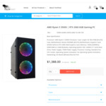 1080P Gaming PC: Ryzen 5 3500X, RTX 2060 $1188 + Shipping (Mid To Late June) @ TechFast