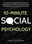 [eBook] Free - Calm Your Mind/10-Minute Social Psychology/Social Skills: Social Fluency - Amazon AU/US