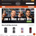 Free Shipping on $50 Spend @ Beer Cartel