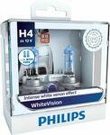 Philips WhiteVision Headlight Globes - H4, 60/55W $15 (Was $79.99) @ Supercheap Auto