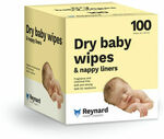 Reynard Dry Wipes 100pk - 12 Boxes for $49 ($4.08 a Box) + $9 Delivery ($0 C&C) @ Baby Bunting