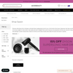 15% off Dyson Supersonic Hairdryer $466.65 + Free Express Delivery + 2 Samples @ Adore Beauty