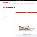 SPERRY BAHAMA 3-Eye Canvas $20 (Size US Men 7-12: Colour: Off White or Navy) + $10 Delivery @ Pivot