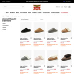 $39 Ugg Australian Shepherd Mens Scuff (Was $129.99) + $10 Delivery (Free with $100 Spend) @ Rivers