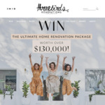 Win $130,000 Worth of Prizes from Three Birds Renovation