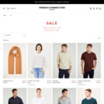 Upto 50% off: Vintage Sweat $49.95 (Was $99.95) + Delivery ($0 with $50 Spend) @ French Connection