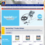 Int/Ext Paints 1L-10L $16.99-$49.99, 5 Pc Brush Set $9.99, Airless Sprayer $249, Turpentine 1L $4.49, Wet/Dry Vac $49.99 @ ALDI