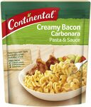 50% off Continental Pasta & Sauce Varieties (85g-105g) $1.10 + Delivery ($0 with Prime/ $39 Spend) @ Amazon AU