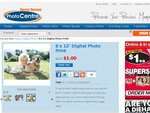 Harvey Norman 8x 12″ Digital Photo Prints $1.00 (Usually $3.75, 70% off). Expires 22nd April