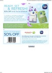 50% off Voucher for Ambi Pur Set & Refresh Product Range at Woolworths