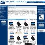 Refurbished ZenBooks - 20% off Refurbished Listed Price