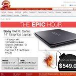 "Sony Vaio 14"" $549 - Core i5, HD+ 1600x900 Screen, HD 7670M 1GB Video. Starts 6 Jan, 8-9PM AEDT"