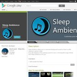 Sleep Ambience - Free Android App with Free Add-on (Normally $1.99)