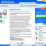 MockupScreens 50% off on BitsDuJour.com, Team/Corporate License also available