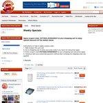 750GB $45, 1TB $69 USB/Firewire Portable Drives for MacBook, External LG Blu-Ray Player $99