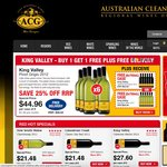 ACG Wine - King Valley Wines Buy 1 Case Get 1 Free Case + FREE Delivery. Deals from $40.46
