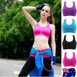 NEW ARRIVAL Women Crop Top Sport Bra w/ Padded Support, FREE POSTAGE, ONLY $25.00