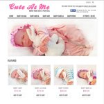 """70% OFF SALE Amazing Lifelike Baby Play Dolls for Kids """"Cute As Me"""" Brand Toy"""