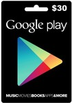 $30 Google Play Credit Now for $21 @ iDroid