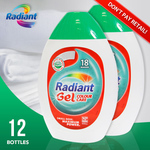 1-Year Supply of Radiant Colour Care Laundry Gel - 12 X 630mL Bottles - $35 + $10 Shipping