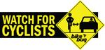 Free Cyclist Awareness Sticker