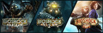 BioShock Triple Pack $11.89 USD on Steam