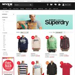 Selected Men's Superdry Hoodies $37.50 + $9.95 Shipping @ Myer (Mostly L, XL in Stock)