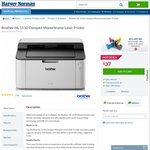Brother HL-1110 Compact Monochrome Laser Printer for $37 at Harvey Norman