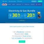 Dodo Electricity 20% off Usage Charges in NSW and Bonus $100 off Bill