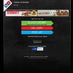 Domino's Pizza Extra Value Range $5.95 or Traditional Pizza $6.95 or Chef's Best $7. Pickup Only