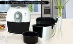 Groupon Kitchen Chef 3.2lts Air Fryer with Baking Dish $99 or $94.05 Visa (Normally $329.95)