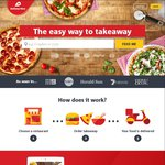 Delivery Hero - $10 off (Minimum Order $25)