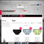 Frank and Beans Underwear Sale with More than 50% off Most Styles - Prices Start at $4.50