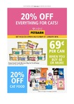 20% off Everything For Cats @ Petbarn [In-Store Only]