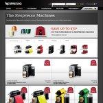 Nespresso U DeLonghi Pure Machine $159 (Save $40 - Original Price $199) Online Only or App