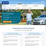 Allianz Car Insurance 12% Discount Code