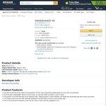 Dragon Quest VIII FREE (Was $20 USD) @ Amazon App Store